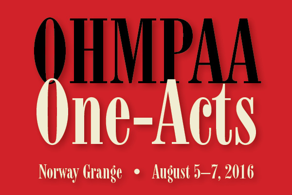 OHMPAA One Acts card